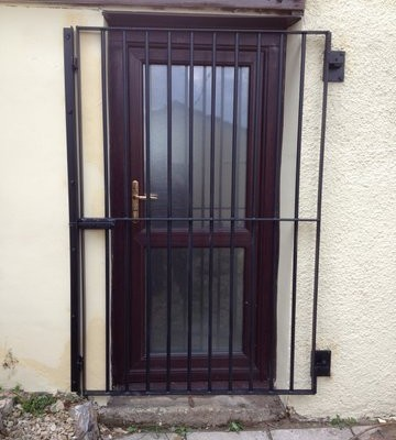 Security Gate for Doors