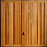 wooden garage door Bath
