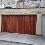 wood effect garage door