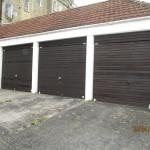 Before - Garage doors