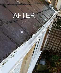 gutter clearing and cleaning in Bath