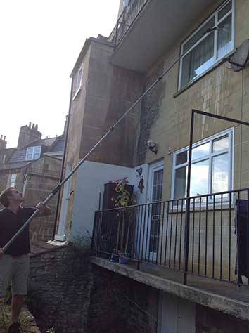 Cleaning of windows in Bath