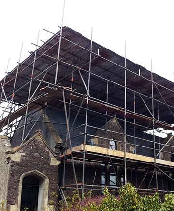Commercial scaffolding Bristol
