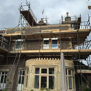 Domestic scaffold hire Bristol