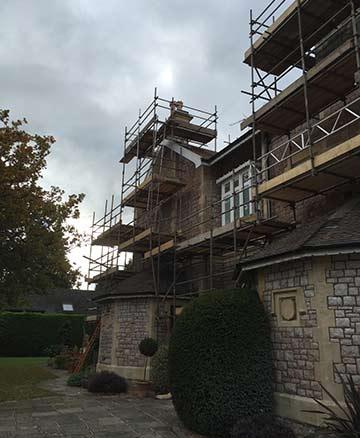 Scaffolding Bristol, Historic Building