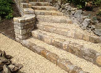 Patios and paths landscaping Bath