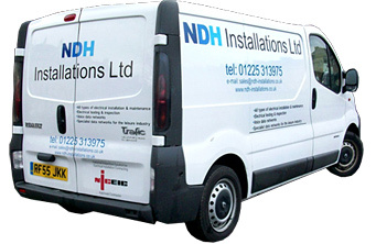 NDH electrical installations van