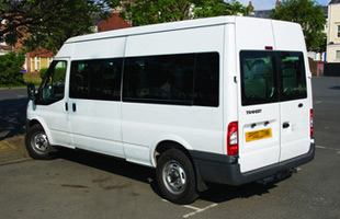 minibus hire Bath