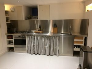 custom stainless steel kitchen, engineering Chippenham