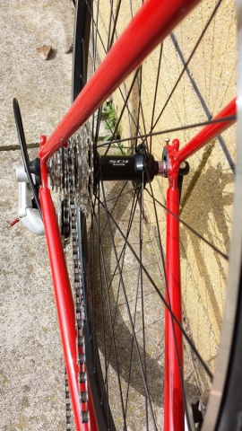 Ribble rebuilt with new hand built custom wheels