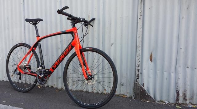 Custom rebuilt Specialized Sirrus Bristol