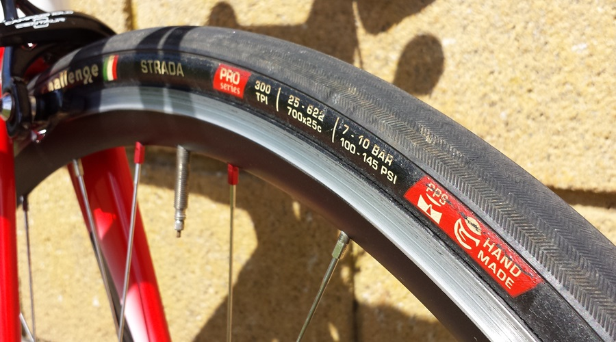 Colnago Eps on hand built wheels