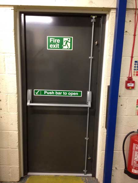 steel fire exit door Bristol