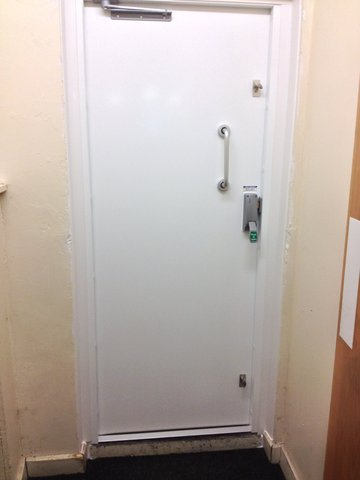 FIRE EXIT STEEL DOOR