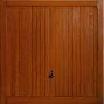 new timber effect garage door Bath