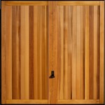 wooden garage door Bath