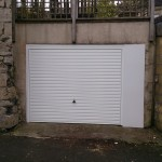 Bath steel garage door