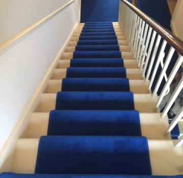 Westex Velvet with Stair Rods