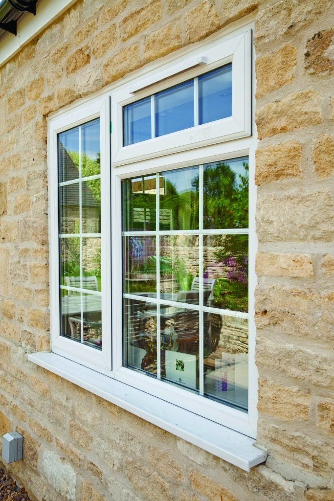 Windows DURAFLEX REHAU PVC supply and fit in Bath