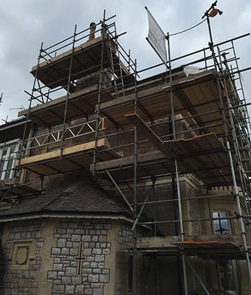 Domestic Scaffolding Bristol