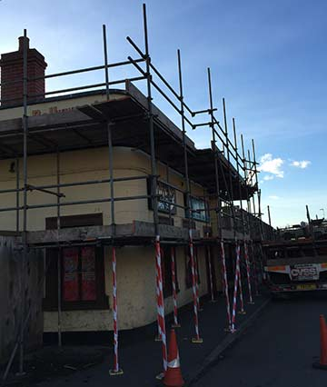 Commercial Scaffolding Bristol, pub