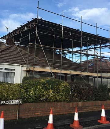 Bristol scaffolders CVSS scaffolding