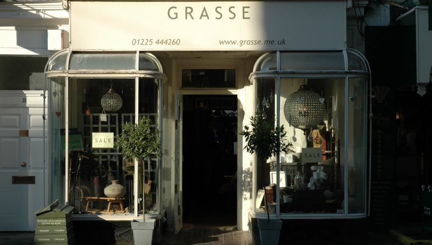 grasse shop fitting by simon davies