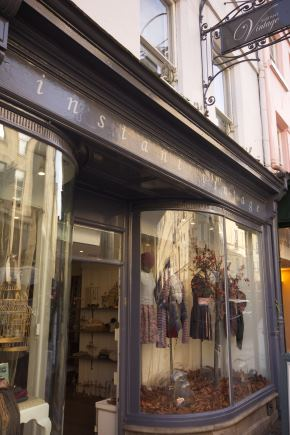 instant vintage shop fitted by Simon Davies, Bristol