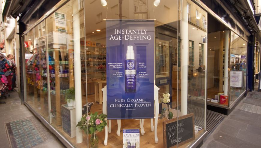 simon davies shop fitting Neal's yard