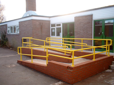 Hand Rails and Ramps