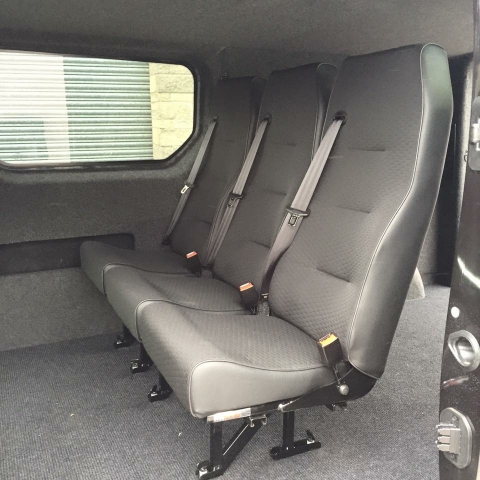 New seats fitted
