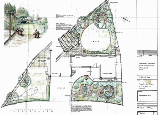plans landscape Bath