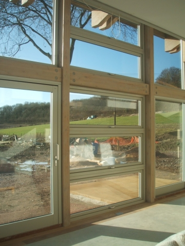 softwood windows fitted