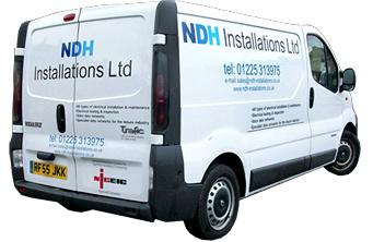 NDH electrical installations van