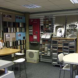 fabrications laminate Chippenham Showroom