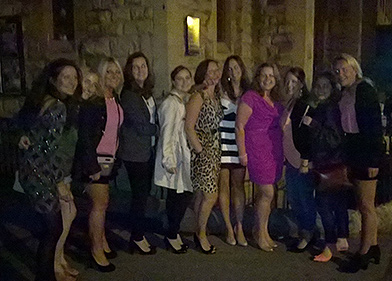 Hen party Bath, minibus hire