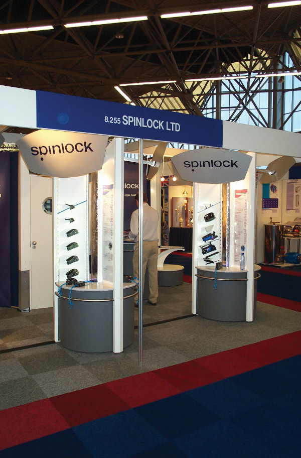 precision sheet metal work exhibition stand