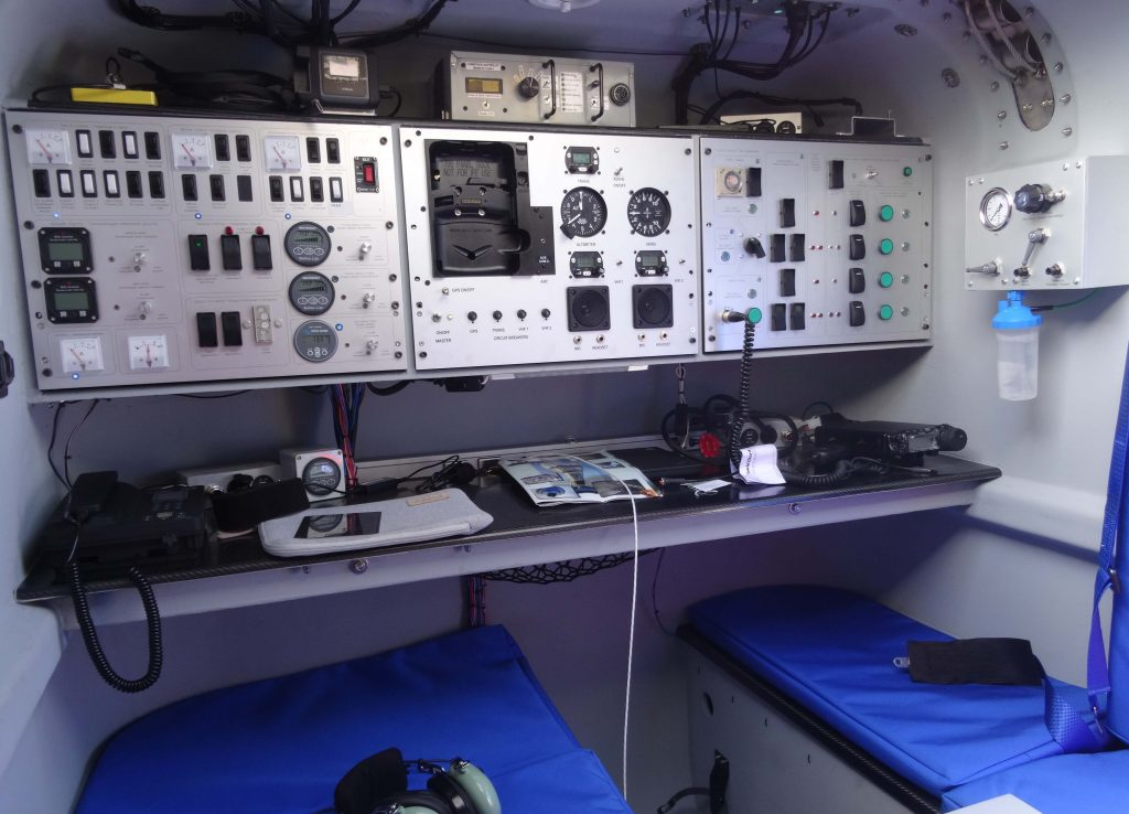 aluminium control panel by Stockall Engineering
