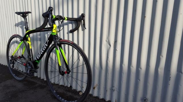 Wilier GTR green Bristol