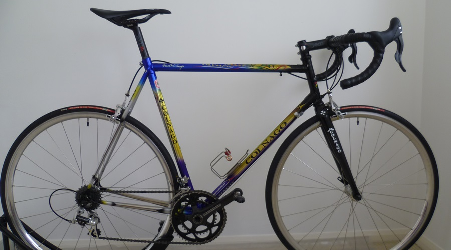 Colnago master olympic with Campagnolo build