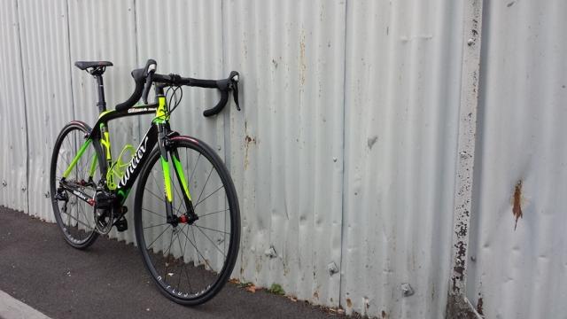 Wilier GTR green Brsitol