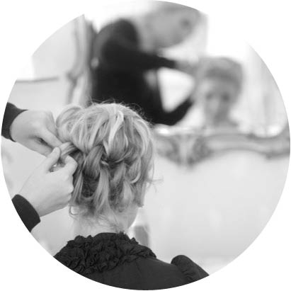 Wedding hairdressers Bath